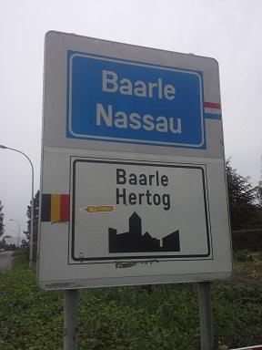 Baarle-Nassau krzywa granica