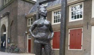 Pomnik prostytutki w Amsterdamie
