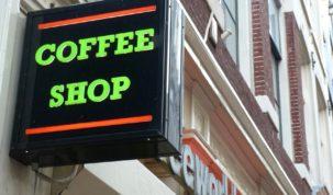 coffee shop w holandii